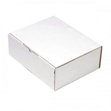 Mailing Boxes - White<br>Size: 260x175x100mm<br>Pack of 25
